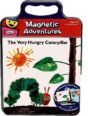 The Very Hungry Caterpillar Magnetic Play Tin