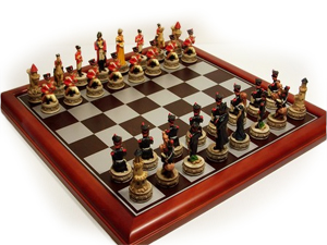 Veronese Feature Waterloo Chess Pieces