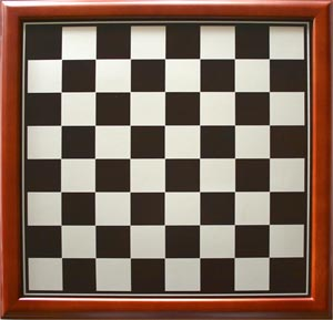 Traditional Timber Framed Chess Board 34cm x 34cm