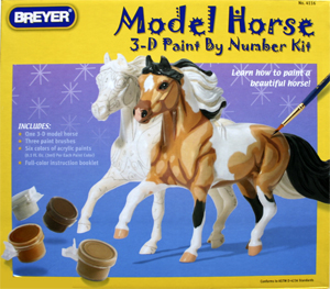 Breyer Paint by Numbers 3d Horse kit