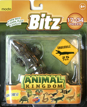 Bitz™ Animal Kingdom - Crocodile 25 pcs