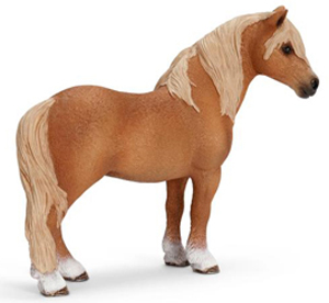 Schleich - Dartmoor Pony Stallion - 13692