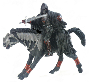Papo Fire Horseman Toy Figure