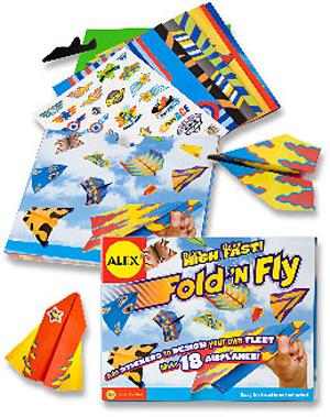 Fold'n Fly Paper Plane Kit