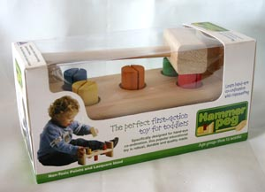 Hammer Peg first action toy for Toddlers