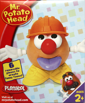 Junior Potato Head - Orange hat (Construction worker)