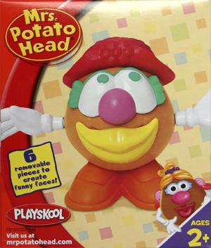 Junior Mrs Potato Head - Red Hat