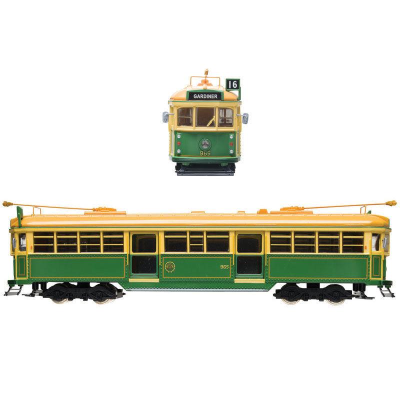 W6 Class Melbourne Tram - Green Rattler MMTB #965 Diecast Model