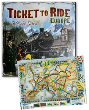 Ticket to Ride (Europe Edition)