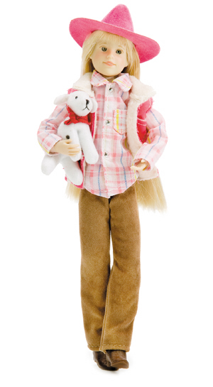 Only hearts Club Doll - Karina Grace - Pink Western Outfit