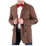 Dr Who !1th Doctor Dress Up Tweed Jacket