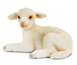 Schleich - Lamb Lying - 13284