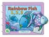 Rainbow Fish Storybook and Finger Puppets