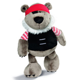 Nici Pirates - Bear 26cm plush