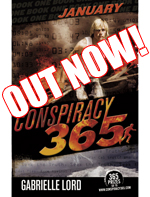 Conspiracy 365 - January - a novel by Gabrielle Lord