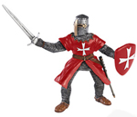 Papo Crusade Knight _Red