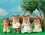 Sylvanian Families Squirrel Family Set - 4172