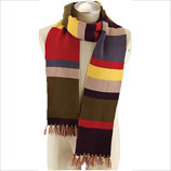 Doctor Who 4th Doctor Tom Baker 6ft Scarf