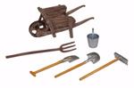 Papo Wheelbarrow with tools - P51140