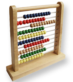 Abacus - Wooden Counting Frame
