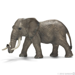 Schleich - African Elephant Male - 14656 New for 2012