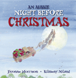 An Aussie Night Before Christmas Board Book by Yvonne Morrison and Kilmeny Niland