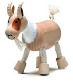 AnamalZ Goat Wooden Figure