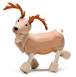 AnamalZ Reindeer Wooden Figure