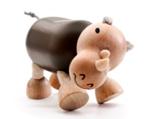 AnamalZ Rhino Wooden Figure