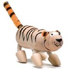 AnamalZ Tiger Wooden Figure