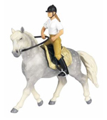 Papo 51056 Andalusian Saddle Horse (Rider not included)