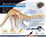 Apatosaurus Wooden construction kit - small
