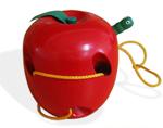Apple Lacing Threader - Wooden
