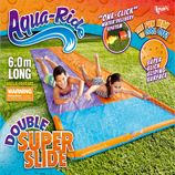 Aqua Ride Double Super Fun Water Slide 6.0 m