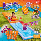 Aqua Ride Mega Launch Super Fun Water Slide 6.0m