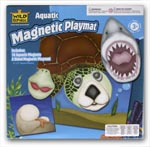 Aquatic Faces Magnetic Playmat