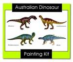 Australian Dinosaur Painting Kit