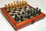 Australian Feature Chess Set with storage board