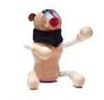 AnamalZ Baboon Wooden Figure