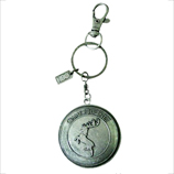 Game of Thrones Baratheon Shield Keychain Fob