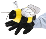 Folkmanis - Bumble Bee Glove Puppet