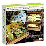 WWF Birds of the Amazon Backgammon