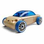 Automoblox - S9 Blue Sedan