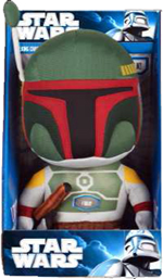 "Star Wars - Boba Fett 9"" Inch Talking Plush"