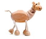 AnamalZ Camel Wooden Figure