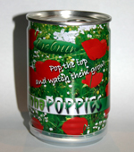 Canna Poppies - Seeds in a Can.