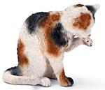 Schleich - Grooming Cat - 13675