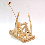 Leonardo Da Vinci Catapult Wooden Construction Kit