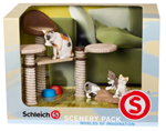 Schleich Cats Scenery Set - 41801