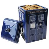 Dr Who Tardis Ceramic Cookie Jar with Lid